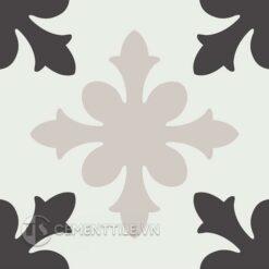 Gạch bông CTS 17.4(4-13-50) - Encaustic cement tile CTS 17.4(4-13-50)