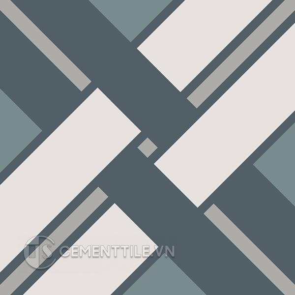 Gạch bông CTS 212.1(9-21-49-54) - Encaustic cement tile CTS 212.1(9-21-49-54)