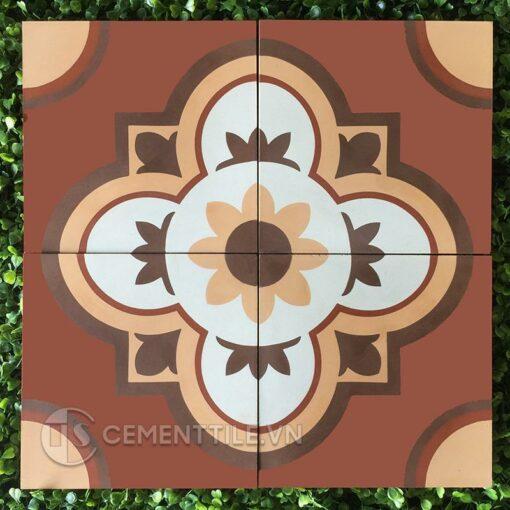 Gạch bông CTS 213.1(4-11-60-62) - Encaustic cement tile CTS 213.1(4-11-60-62)