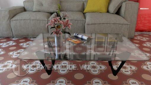 Gạch bông cts 213.1 trang trí phòng khách