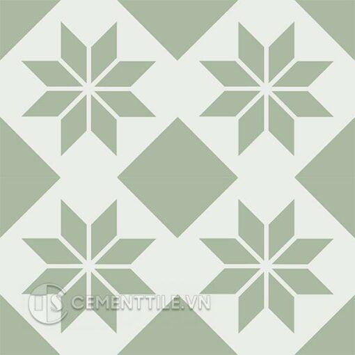 Gạch bông CTS 27.13(4-7) - 4 viên - Encaustic cement tile CTS 27.13(4-7) - 4 tiles