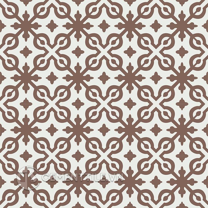 Gạch bông CTS 22.10(4-14) - 16 tiles - Encaustic cement tile CTS 22.10(4-14) - 16 tiles