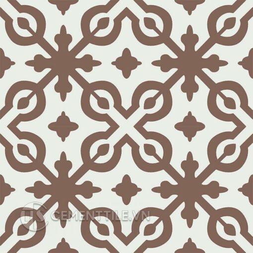 Gạch bông CTS 22.10(4-14) - 4 tiles - Encaustic cement tile CTS 22.10(4-14) - 4 tiles