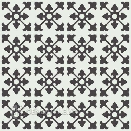 Gạch bông CTS 39.9(4-13) - 16 viên - Encaustic cement tile CTS 39.9(4-13) - 16 tiles