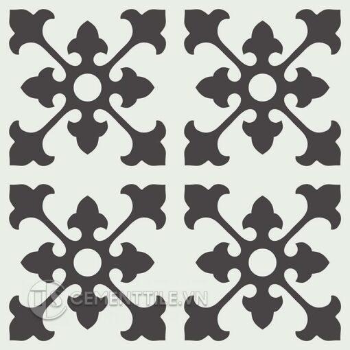Gạch bông CTS 39.9(4-13) - 4 viên - Encaustic cement tile CTS 39.9(4-13) - 4 tiles