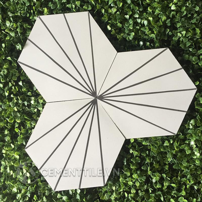 Gạch bông CTS 402.10(4-13) - Encaustic cement tile CTS 402.10(4-13)