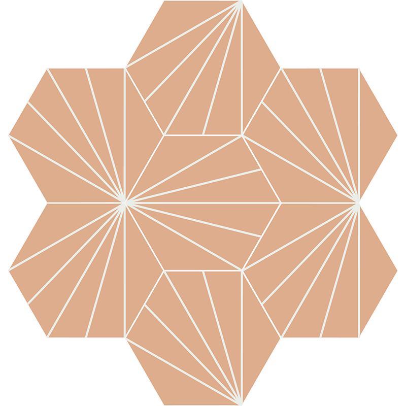 Gạch bông CTS 402.11(4-38) - 7 viên - Encaustic cement tile CTS 402.11(4-38) - 7 tiles