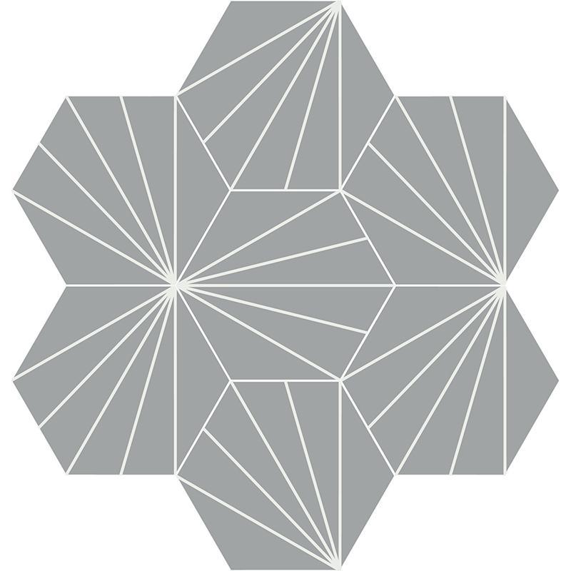 Gạch bông CTS 402.5(4-9) - 7 viên - Encaustic cement tile CTS 402.5(4-9)-  7tiles