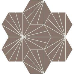 Gạch bông CTS 402.6(4-14) - 7 viên - Encaustic cement tile CTS 402.16(4-14) - 7 tiles