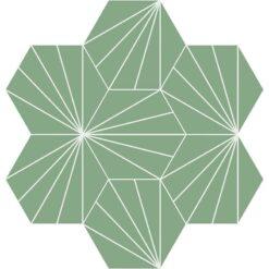 Gạch bông CTS 402.8(4-7) - 7 viên - Encaustic cement tile CTS 402.8(4-7) - 7 tiles