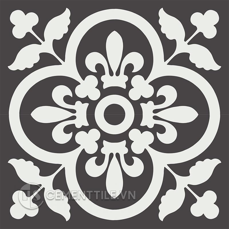 Gạch bông CTS 98.5(4-13) - 4 viên - Encaustic cement tile CTS 98.5(4-13) - 4 tiles