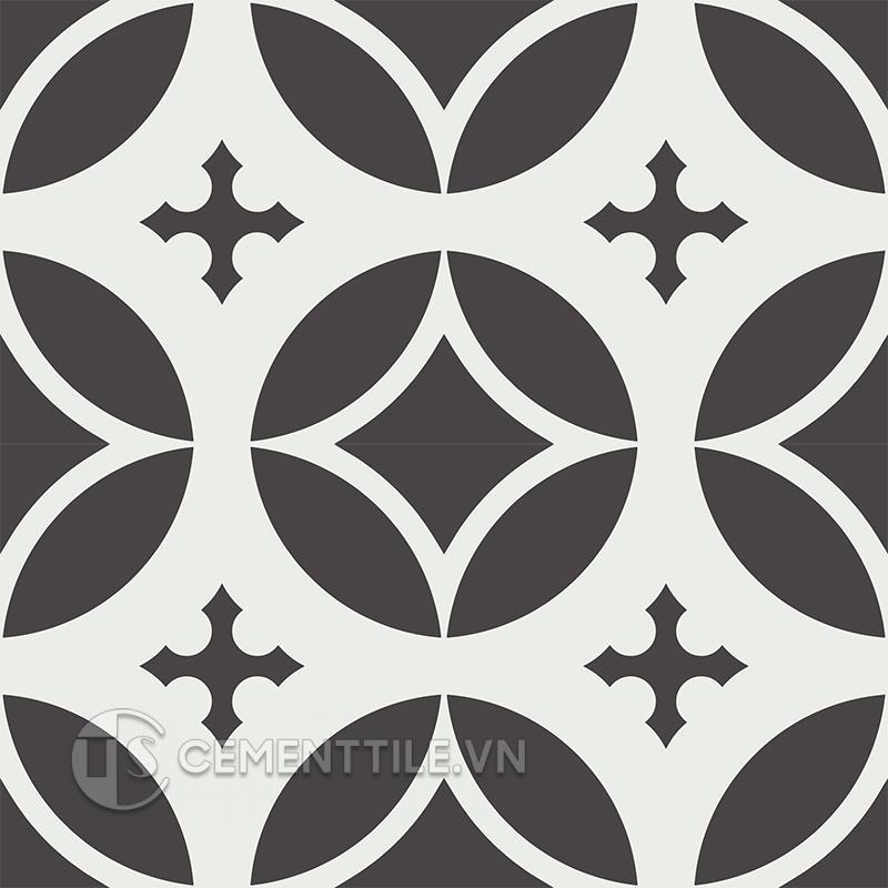 Gạch bông CTS 111.2(4-13) - 4 viên - Encaustic cement tile CTS 111.2(4-13) - 4 tiles