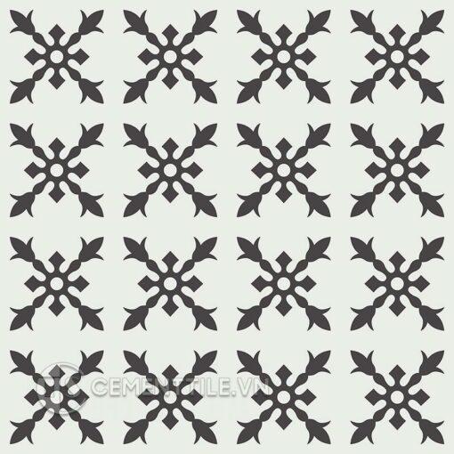 Gạch bông CTS 179.3(4-13) - 16 viên - Encaustic cement tile CTS 179.3(4-13) - 16 tiles