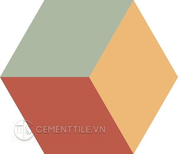 Gạch bông lục giác CTS H401.3(5-6-7) - Encaustice cement tile Hexagon CTS H401.3(5-6-7)