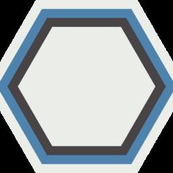 Gạch bông lục giác CTS H405.1(4-9-10-13) - Encaustic cement tile Hexagon CTS H405.1(4-9-10-13)