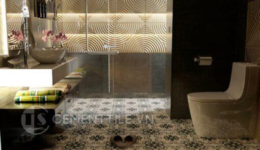 Gạch bông cts 5.11 trang trí nhà tắm