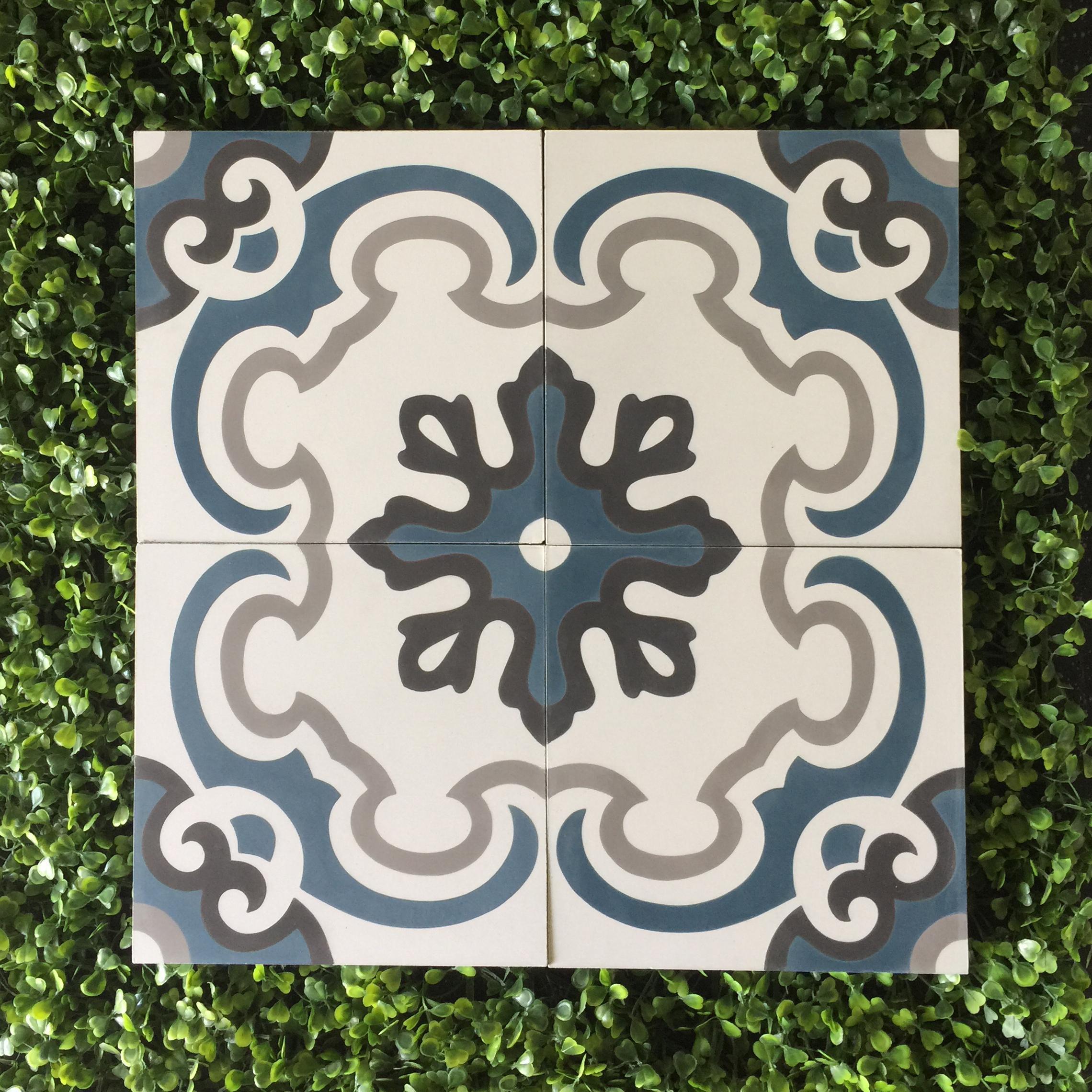 Gạch bông CTS 5.11(1-4-13-09) - Encaustic cement tile CTS 5.11(1-4-13-09)