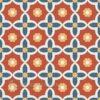 Gạch bông CTS 78.1(1-4-5-6) – 16 viên – Encaustic cement tile CTS 78.1(1-4-5-6) – 16 tiles