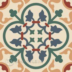 Gạch bông CTS 80.4(19-34-40-59-62) - Encaustic cement tile CTS 80.4(19-34-40-59-62)