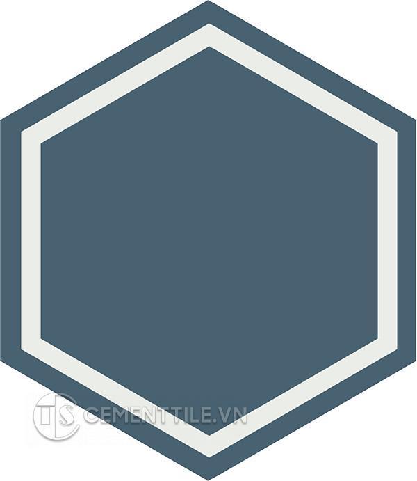 Gạch bông lục giác CTS H404.4(1-4) - Encaustice cement tile Hexagon CTS H404.4(1-4)