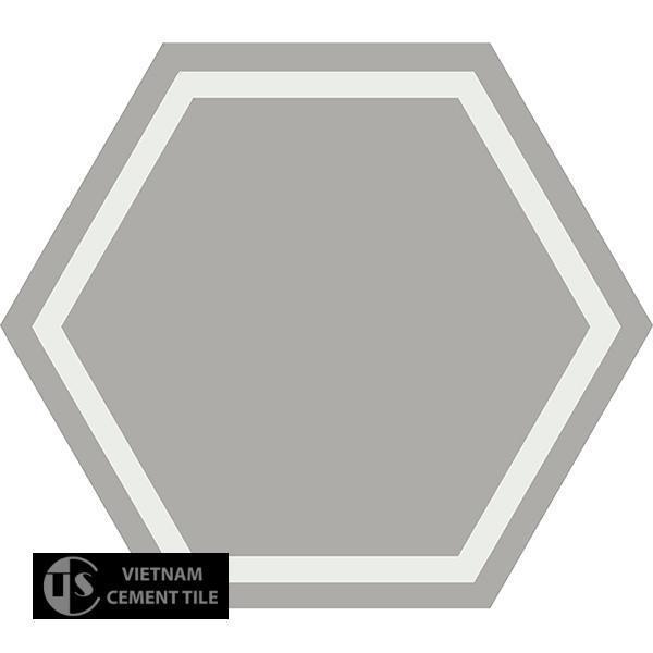 Gạch bông lục giác CTS H404.6(4-9) - Encaustic cement tile Hexagon CTS H404.6(4-9)