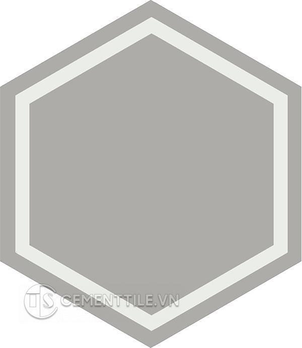 Gạch bông lục giác CTS H404.6(4-9) - Encaustice cement tile Hexagon CTS H404.6(4-9)