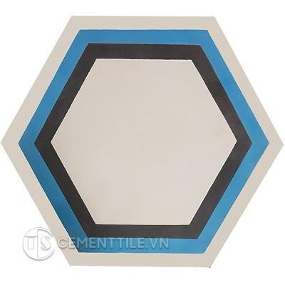 Gạch bông lục giác CTS H405.3(4-10-13) - Encaustice cement tile Hexagon CTS H405.3(4-10-13)