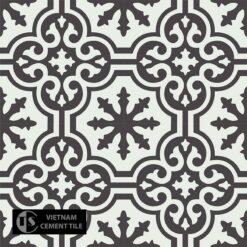 Gạch bông CTS 1.50(4-13) - 4 viên - Encaustic cement tile CTS 1.50(4-13) - 4 tiles