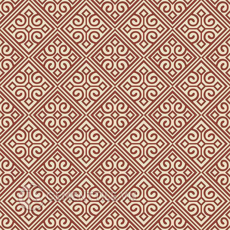 Gạch bông CTS 136.2(59-62) - 16 viên - Encaustic cement tile CTS 136.2(59-62) - 16 tiles