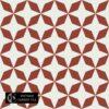 Gạch bông CTS 170.1(4-62) - 16 viên - Encaustic cement tile CTS 170.1(4-62) - 16 tiles