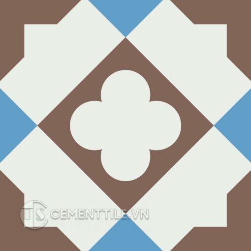 Gạch bông CTS 217.1(4-8-14) - Encaustic cement tile CTS 217.1(4-8-14)