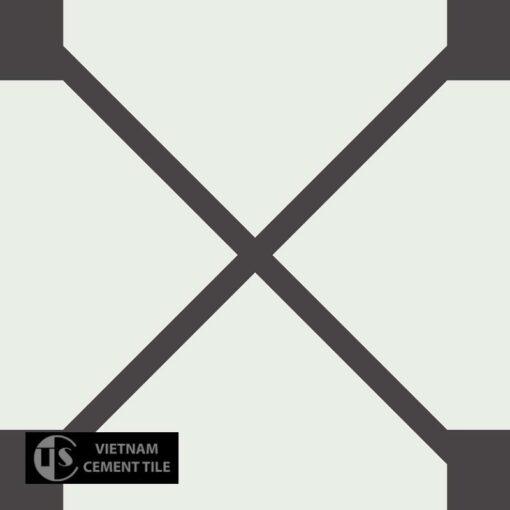 Gạch bông CTS 219.1(4-13) - Encaustic cement tile CTS 219.1(4-13)