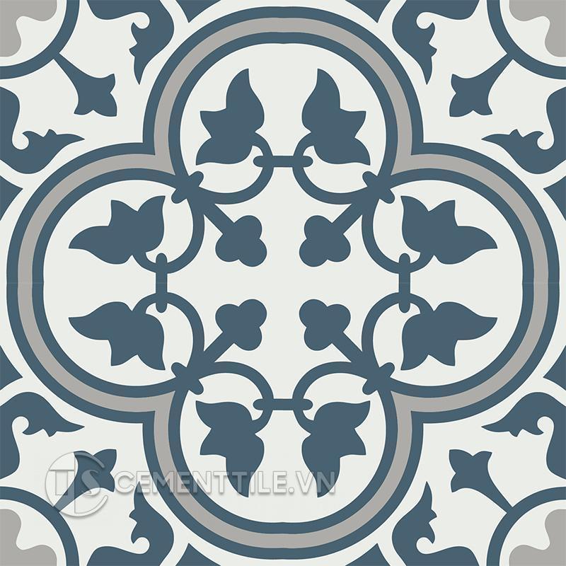 Gạch bông CTS 97.5(1-4-9) - 4 viên - Encaustic cement tile CTS 97.5(1-4-9) - 4tiles
