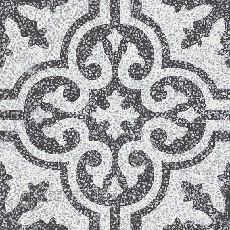 Gạch bông CTS TE-1.50(4-13) - Encaustic cement tile CTS TE-1.50(4-13)