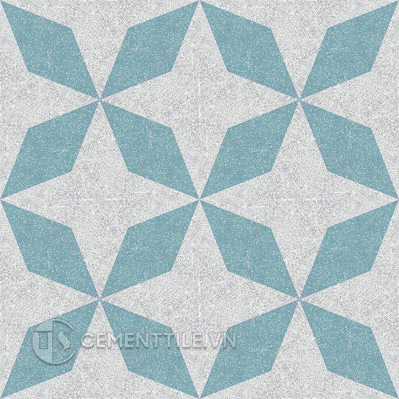 Gạch bông CTS TE-169.3(4-57) - 16 viên - Encaustic cement tile CTS TE-169.3(4-57) - 16 tiles