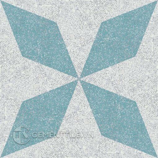 Gạch bông CTS TE-169.3(4-57) - 4 viên - Encaustic cement tile CTS TE-169.3(4-57) - 4 tiles