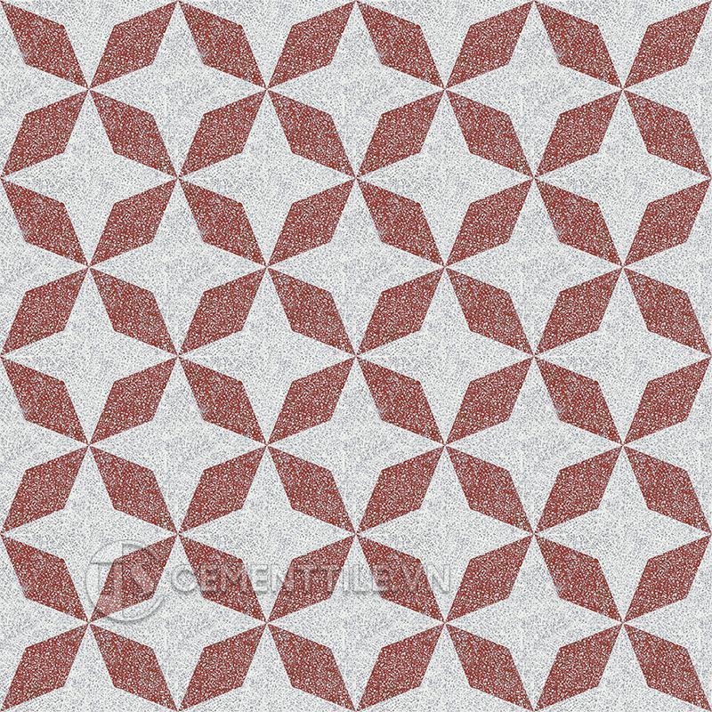 Gạch bông CTS TE-170.2(4-62) - 16 viên - Encaustic cement tile CTS TE-170.2(4-62) - 16 tiles