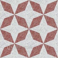 Gạch bông CTS TE-170.2(4-62) - 4 viên - Encaustic cement tile CTS TE-170.2(4-62) - 4 tiles