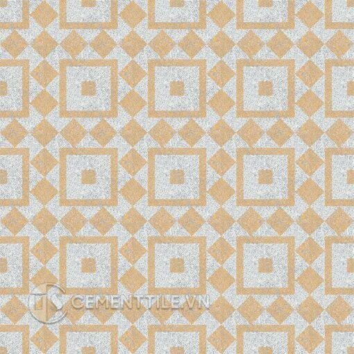 Gạch bông CTS TE-92.3(4-6) - 16 tiles - Encaustic cement tile CTS TE-92.3(4-6) - 16 tiles