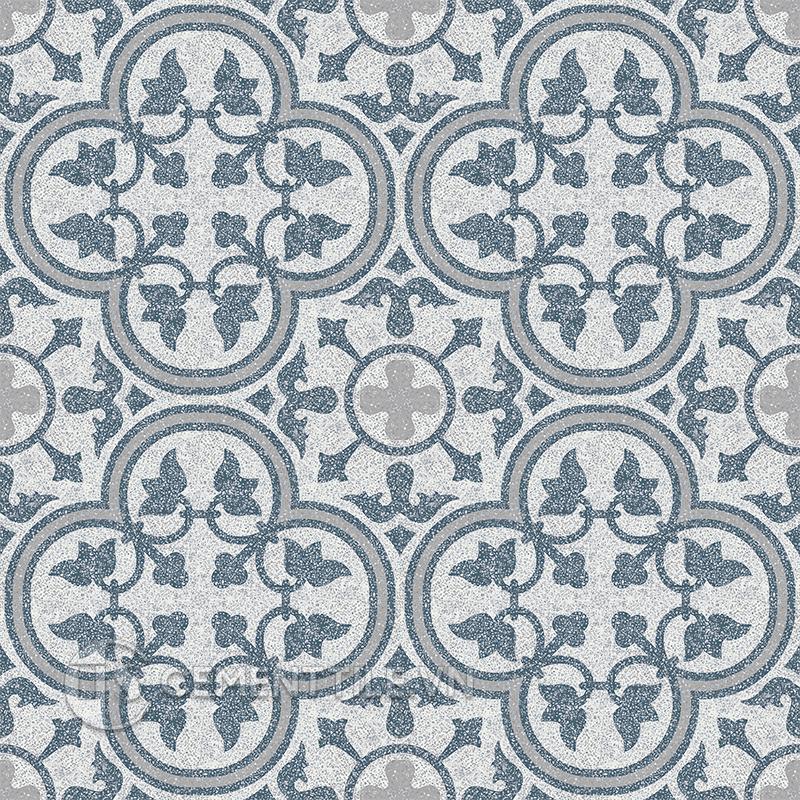 Gạch bông CTS TE-97.5(1-4-9) - 16 viên - Encaustic cement tile CTS TE-97.5(1-4-9) - 16 tiles