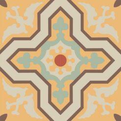 Gạch bông CTS 124.2(5-6-7-12-14) - 4 viên - Encaustic cement tile CTS 124.2(5-6-7-12-14) - 4 tiles