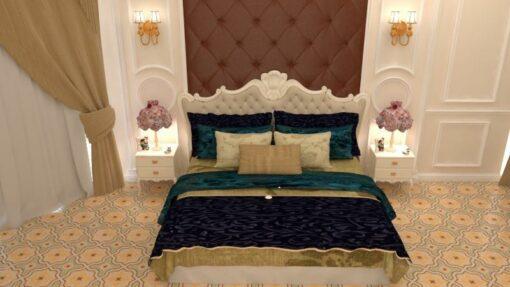 Gạch bông CTS 124.2 lát nền phòng ngủ