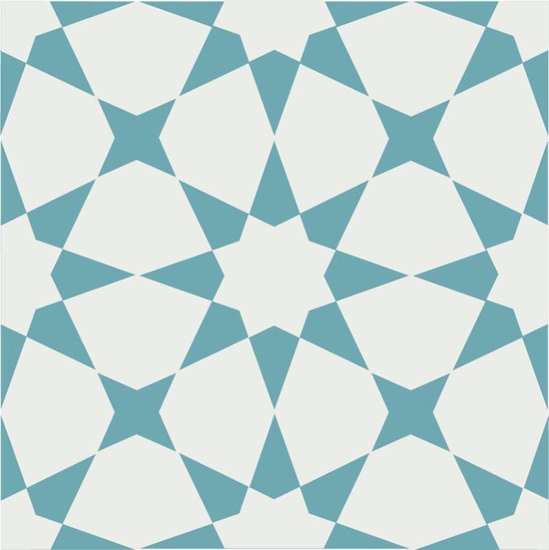 Gạch bông CTS 141.8(4-57) - Encaustic cement tile CTS 141.8(4-57)