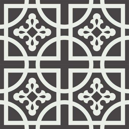 Gạch bông CTS 221.1(4-13) - 4 viên - Encaustic cement tile CTS 221.1(4-13) - 4 tiles