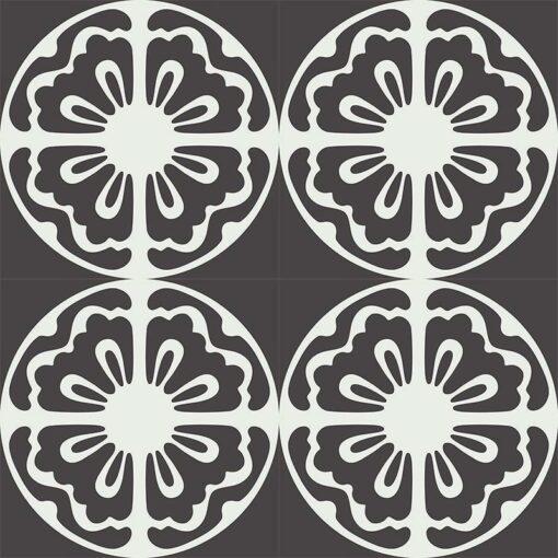 Gạch bông CTS 222.1(4-13) - 16 viên - Encaustic cement tile CTS 222.1(4-13) - 16 tiles