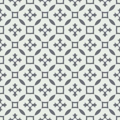 Gạch bông CTS 36.5(4-13) - 16 viên - Encaustic cement tile CTS 36.5(4-13) - 16 tiles