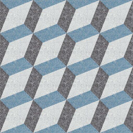 Gạch bông CTS TE-13.5(4-10-13) - 16 viên - Encaustic cement tile CTS TE-13.5(4-10-13) - 16 tiles