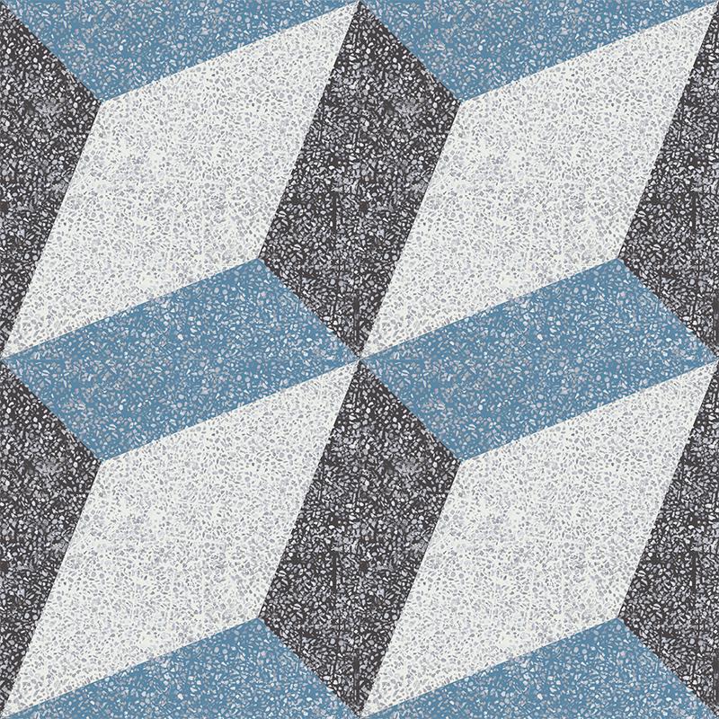Gạch bông CTS TE-13.5(4-10-13) - 4 viên - Encaustic cement tile CTS TE-13.5(4-10-13) - 4 tiles