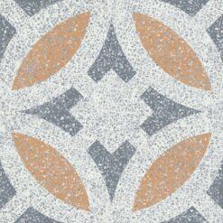 Gạch bông CTS TE-186.1(4-33-34) - Encaustic cement tile CTS TE-186.1(4-33-34)