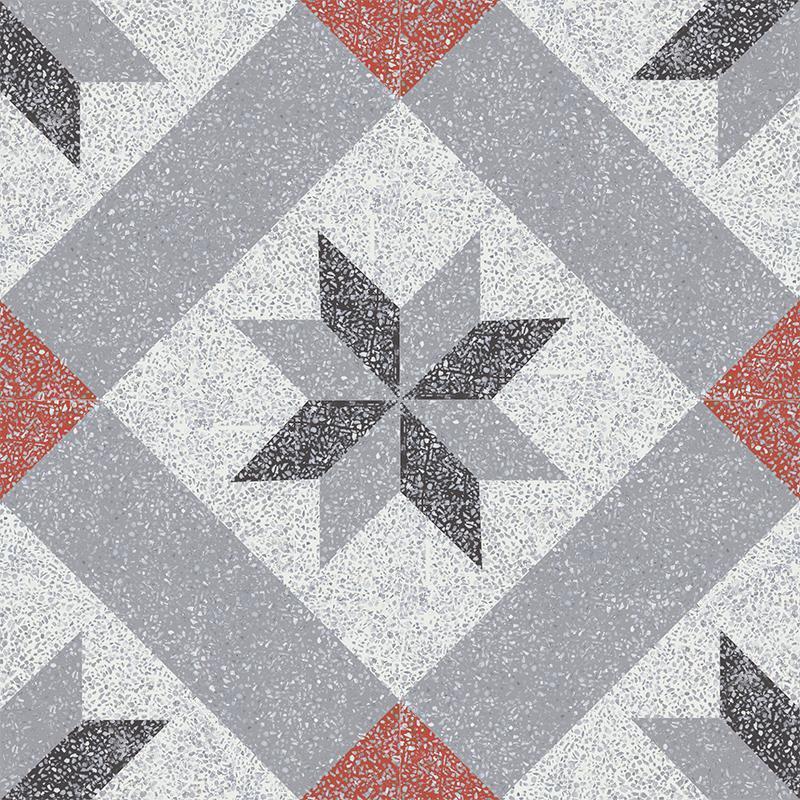 Gạch bông CTS TE-12.2(4-5-9-13)-4 viên - Encaustic cement tile CTS TE-12.2(4-5-9-13)-4 tiles